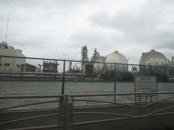 浮島の工業地帯