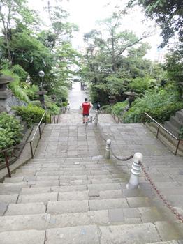 本門寺階段