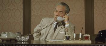 社長行状記で怖い東野英治郎