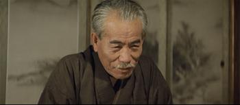 社長行状記でニコッと笑う東野英治郎