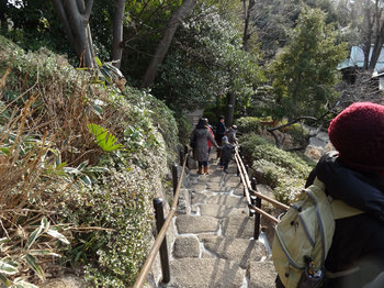 下りの階段